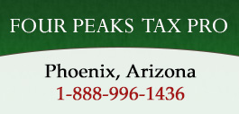 Welcome to Four Peaks Tax Pro
